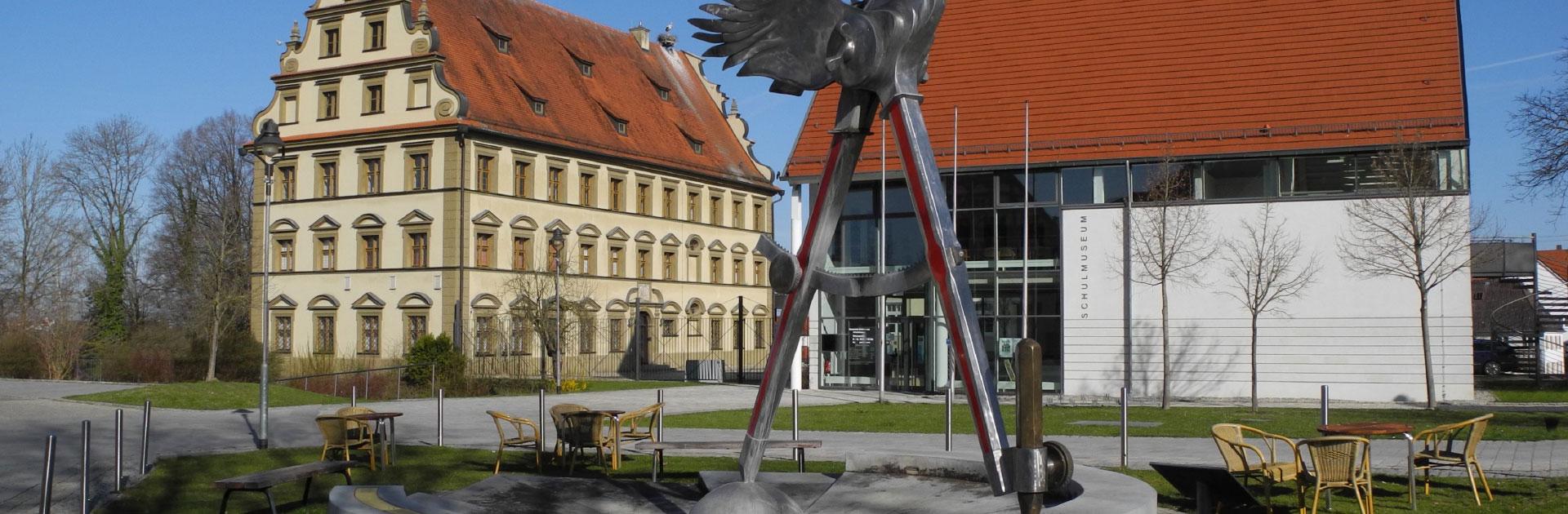 Ansicht Schulmuseum Ichenhausen von außen